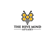 The Hive Mind Apiary Logo - Entry #79