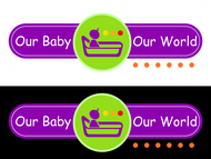 Logo for our Baby product store - Our Baby Our World - Entry #121