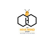 The Hive Mind Apiary Logo - Entry #128