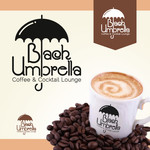 Black umbrella coffee & cocktail lounge Logo - Entry #152