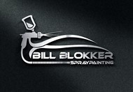 Bill Blokker Spraypainting Logo - Entry #158