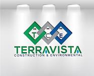 TerraVista Construction & Environmental Logo - Entry #306