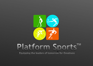 "Platform Sports "" Equipping the leaders of tomorrow for Greatness."" Logo - Entry #51"