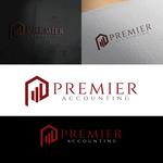 Premier Accounting Logo - Entry #129
