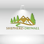 Shepherd Drywall Logo - Entry #364