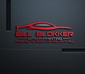 Bill Blokker Spraypainting Logo - Entry #107