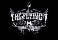 The Flying V Ranch Logo - Entry #69