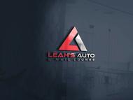 Leah's auto & nail lounge Logo - Entry #198