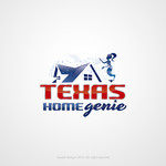 Texas Home Genie Logo - Entry #107