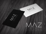Maz Designs Logo - Entry #320