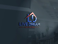 LiveDream Apparel Logo - Entry #40