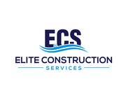 Elite Construction Services or ECS Logo - Entry #185