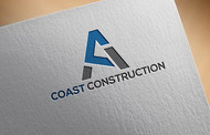 CA Coast Construction Logo - Entry #173