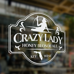 Crazy Lady Logo - Entry #28