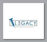 LEGACY RENOVATIONS Logo - Entry #82