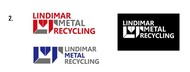 Lindimar Metal Recycling Logo - Entry #227