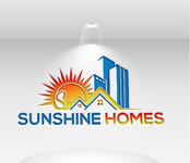 Sunshine Homes Logo - Entry #68