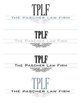 The Pascher Law Firm Logo - Entry #18