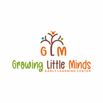 Growing Little Minds Early Learning Center or Growing Little Minds Logo - Entry #69