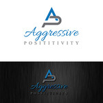 Aggressive Positivity  Logo - Entry #49