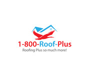 1-800-Roof-Plus Logo - Entry #82
