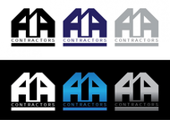 AIA CONTRACTORS Logo - Entry #24