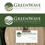 Green Wave Wealth Management Logo - Entry #438