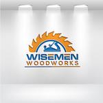 Wisemen Woodworks Logo - Entry #168