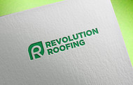 Revolution Roofing Logo - Entry #359