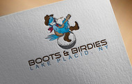 Boots and Birdies Logo - Entry #70