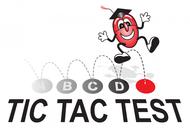 TicTacTest Logo - Entry #80