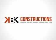 KBK constructions Logo - Entry #97