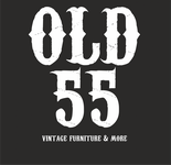 """""""OLD 55"""" - mid-century vintage furniture and wares store Logo - Entry #210"""