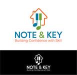 Note & Key Logo - Entry #32