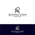Revolution Roofing Logo - Entry #243