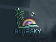 Blue Sky Life Plans Logo - Entry #26