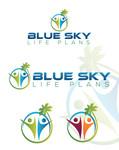 Blue Sky Life Plans Logo - Entry #177