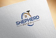 Shepherd Drywall Logo - Entry #110