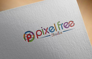 PixelFree Studio Logo - Entry #5