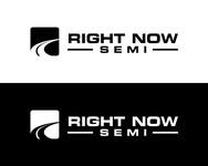 Right Now Semi Logo - Entry #3