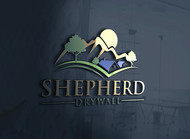 Shepherd Drywall Logo - Entry #238
