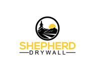 Shepherd Drywall Logo - Entry #113