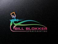 Bill Blokker Spraypainting Logo - Entry #131