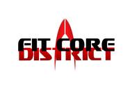 FitCore District Logo - Entry #134