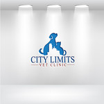 City Limits Vet Clinic Logo - Entry #165