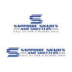 Sapphire Shades and Shutters Logo - Entry #56