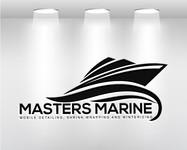 Masters Marine Logo - Entry #238