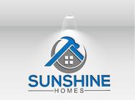 Sunshine Homes Logo - Entry #226