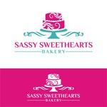 Sassy Sweethearts Bakery Logo - Entry #95