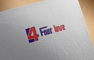 Four love Logo - Entry #229
